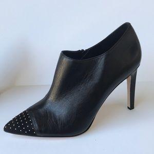 WHBM 'Klaudia' Studded Toe Leather Bootie 9M